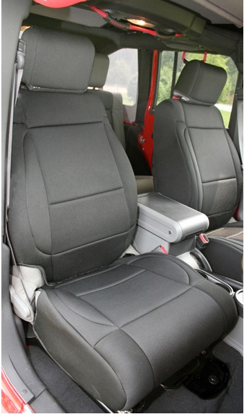 Neoprene Black Seat Covers Front And Rear 2011 2016 Jeep