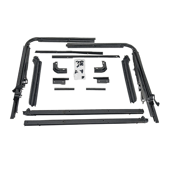 replacement top hardware kit  87 95 jeep wrangler yj ebay Used Jeep YJ Full Doors Jeep YJ Full Doors Hard