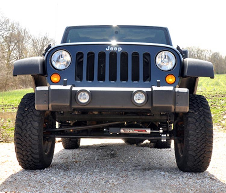 Steel Bumper End Caps (Stubby Conversion), 2007-2017 Jeep